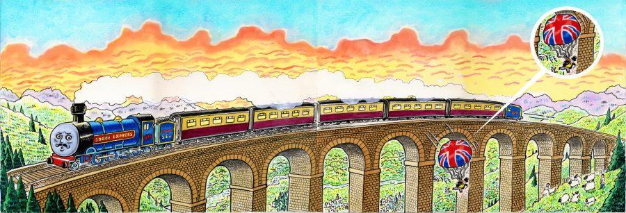 Sodor Express left
