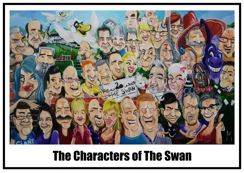 THe Characters of The Swan
