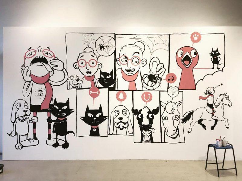 Doncaster Arts mural
