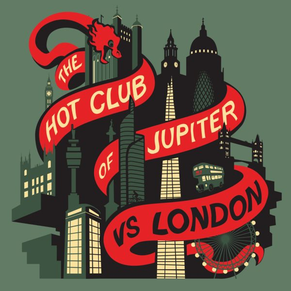 Album cover for The Hot Club of Jupiter
