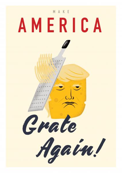 Make America great again poster