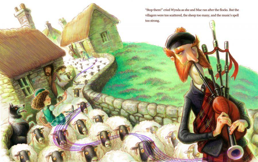 The Plaid Piper of Lamblin: the Piper