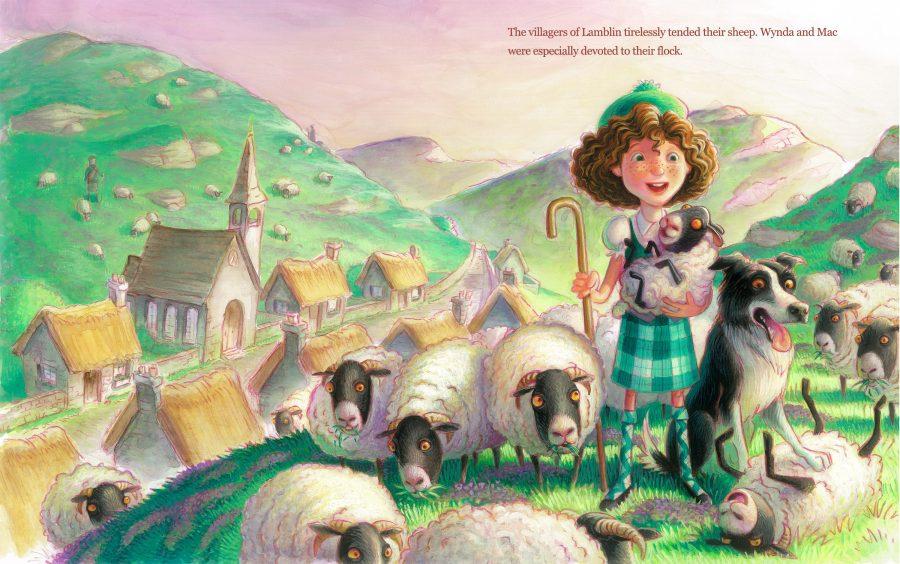 The Plaid Piper of Lamblin: Wynda and Mac