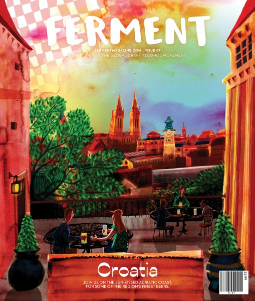 Ferment Magazine Cover