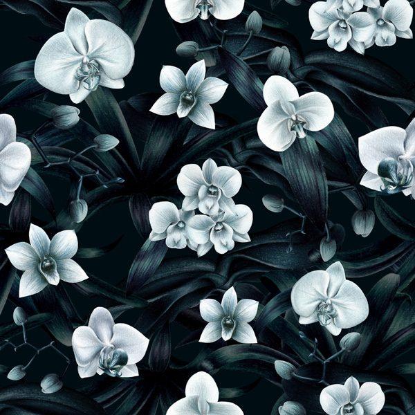 Dark Orchid Pattern