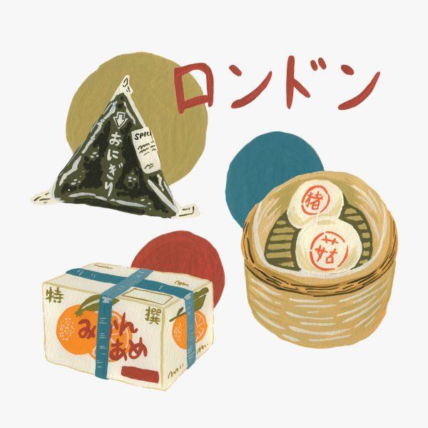 Asian Food Paintings