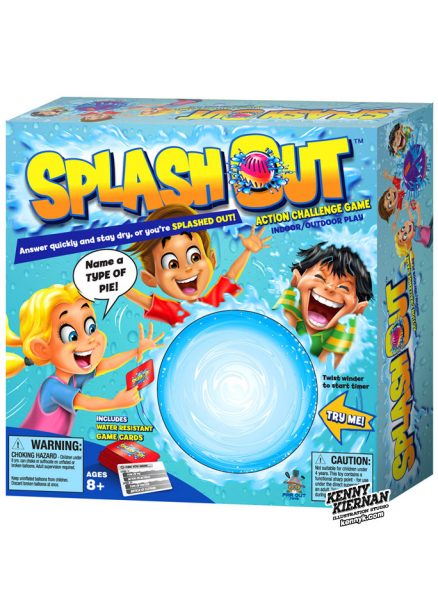 KENNY-KIERNAN-ILLUSTRATION-splash-out-water-cartoon-commercial-illustrator-toy-play-board-game-boardgame-videogame-novelty-children-character-design