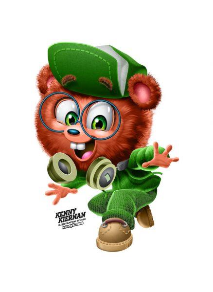 KENNY-KIERNAN-ILLUSTRATION-sun-maid-smart-bear-advertising-commercial-illustrator-packaging-brand-mascot-character-design