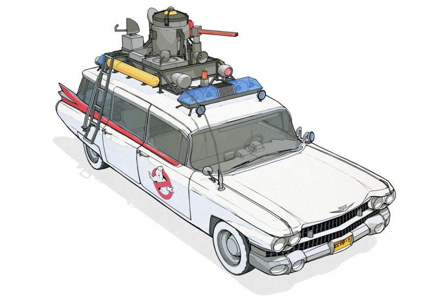 80's Movie Vehicles: Ecto 1