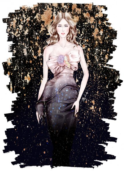Starry night- Marchesa