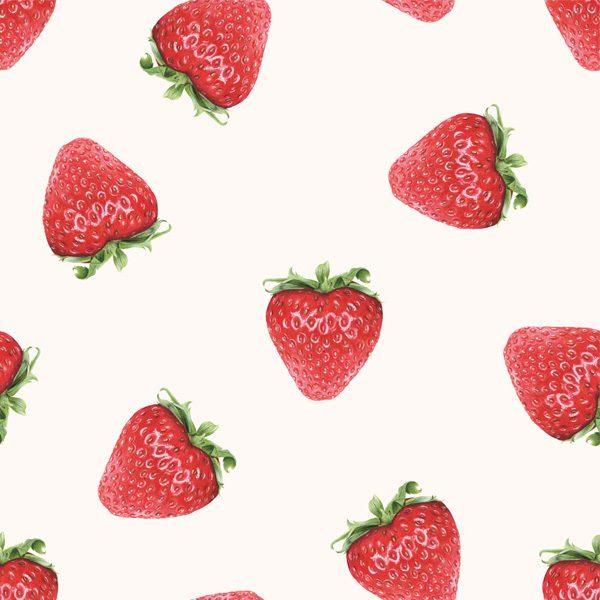 Strawberries on Cream