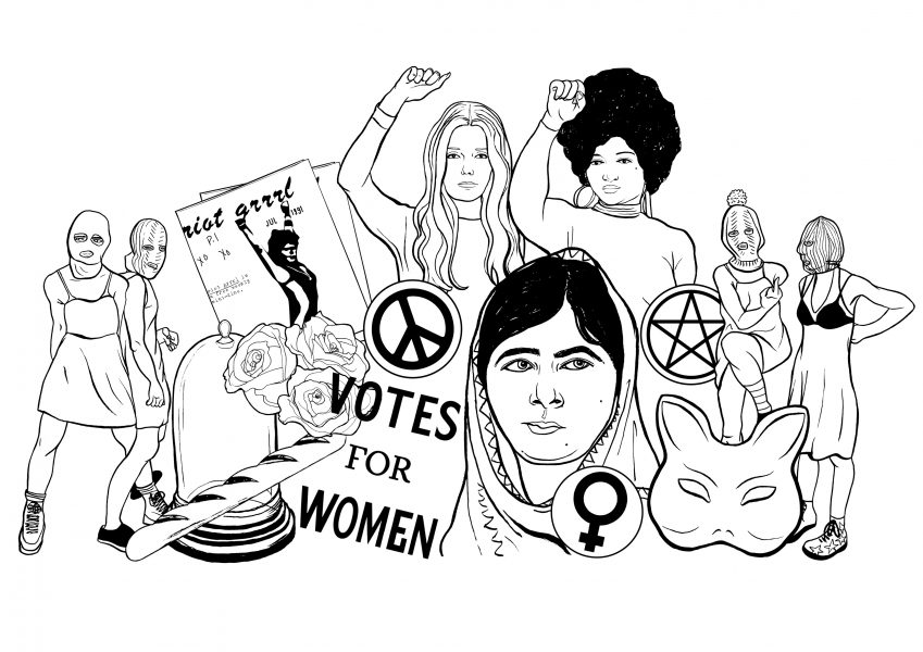 The Jar Belles Feminist Blog Header