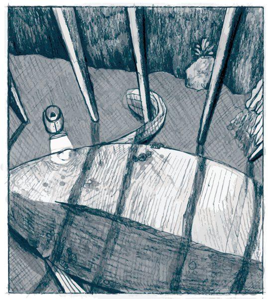 Rough Sketch of 'One Big Fish'