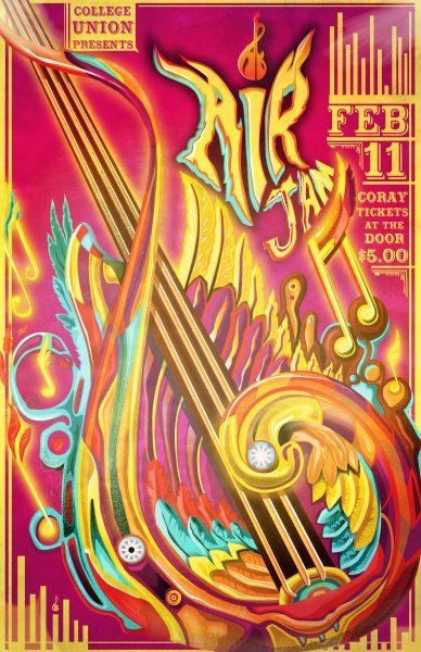 Air Jam Poster