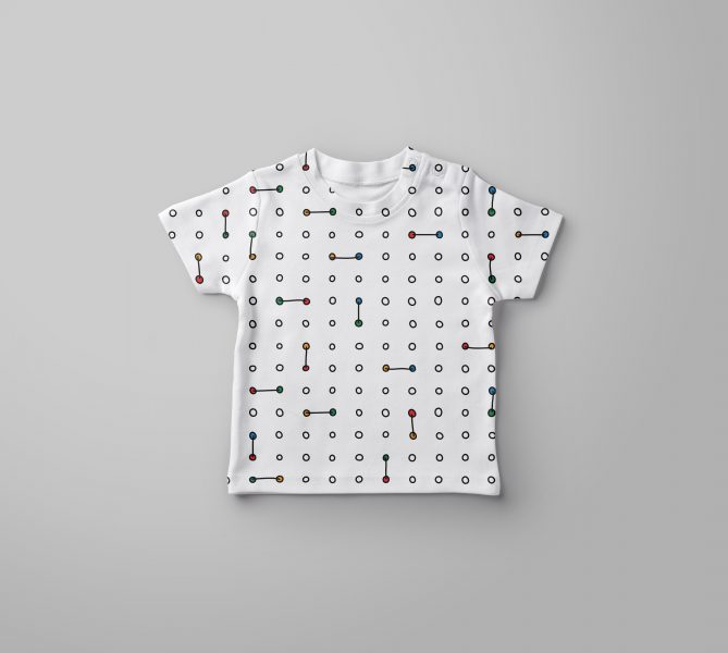 Baby T-Shirt mock-up