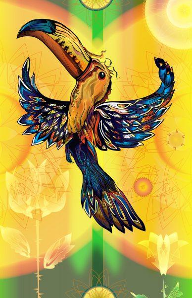 Flaming Toucan
