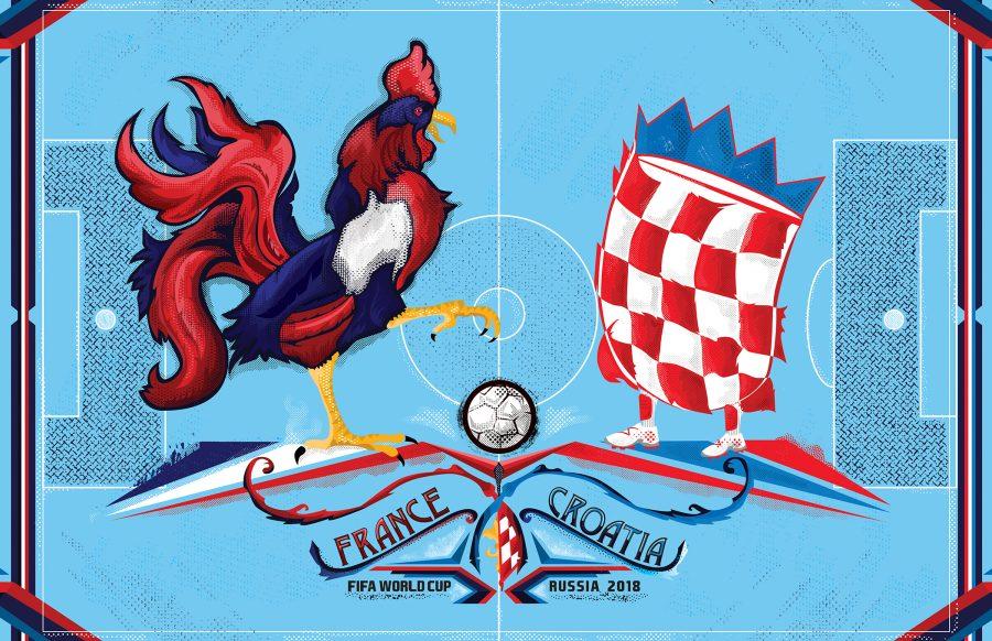 France V.S. Croatia Fifa World Cup