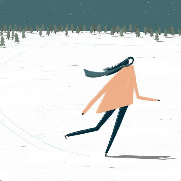 Ice Skating Lady - Rachael Walsh