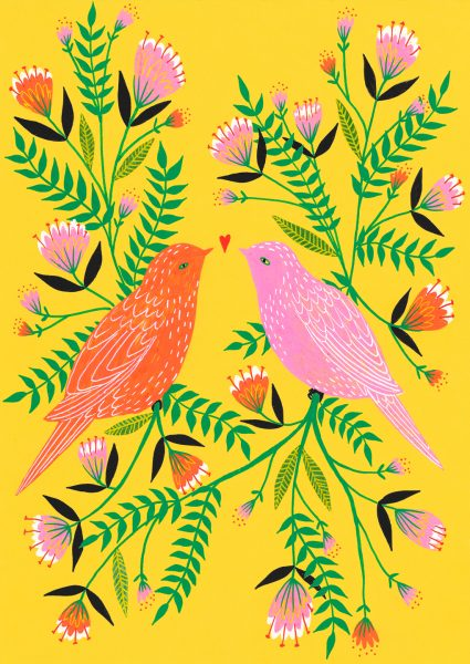 Lee Foster-Wilson: Lovebirds