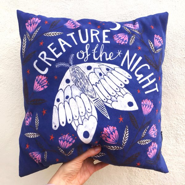 Lee Foster-Wilson: Creature of the Night Cushion