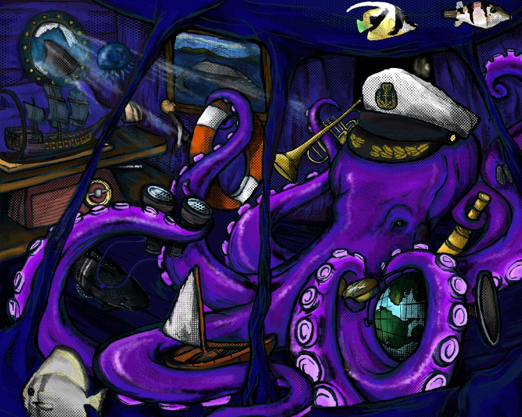 Octopus Captain