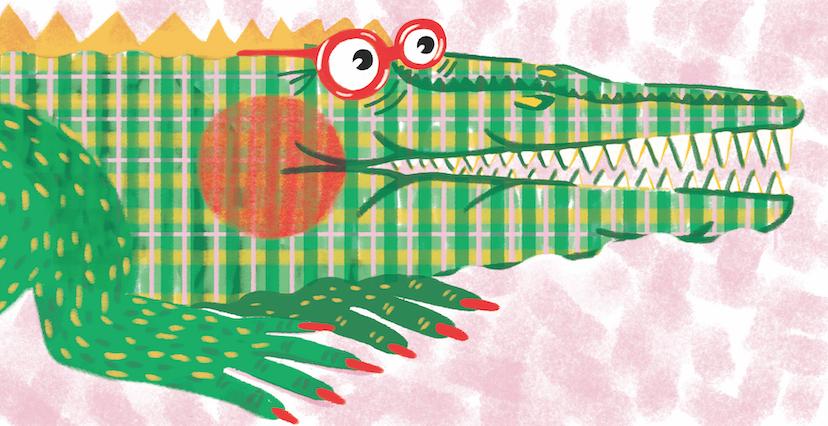 Odile le Crocodile