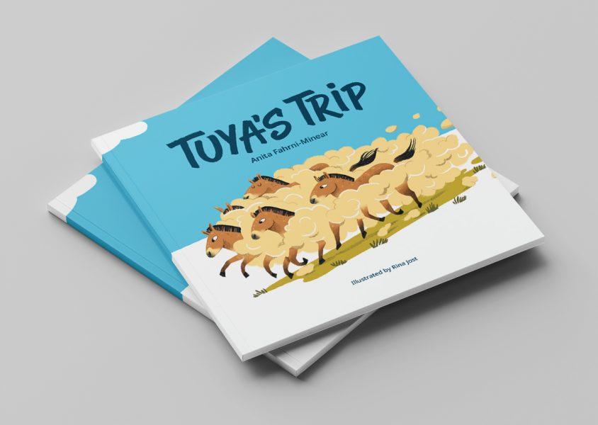 Tuya's Trip Cover Mockup