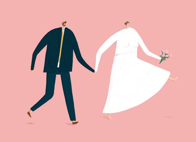 Wedding Illustration - Card