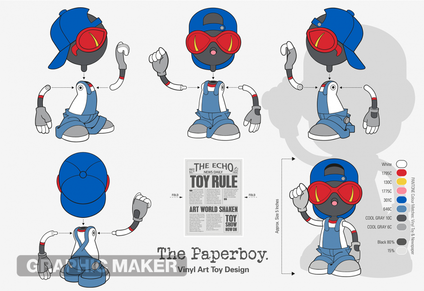 The Paperboy Vinyl Art Toy