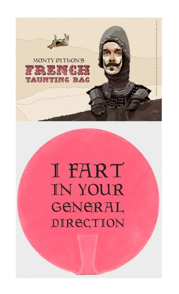 Monty Python's French taunting bag!