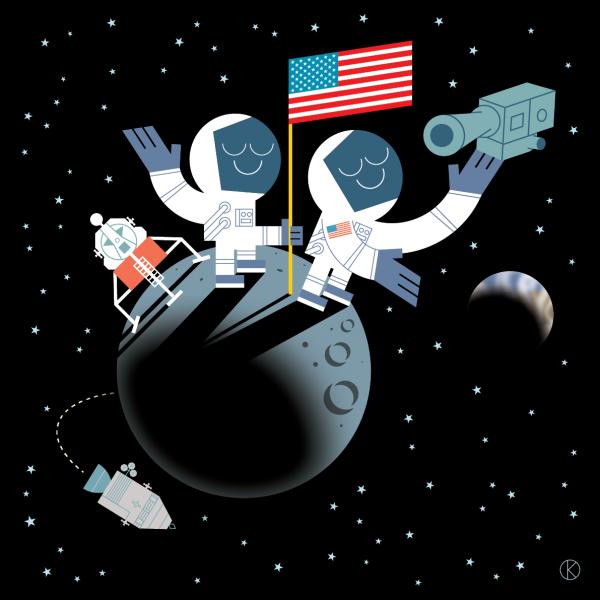 50th Anniversary of man landing on the moon