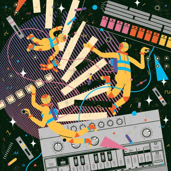 Synths in outer space
