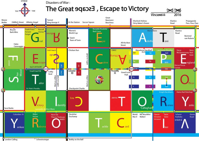Disasters of War: The Great Escape, Escape to Victory (2016)