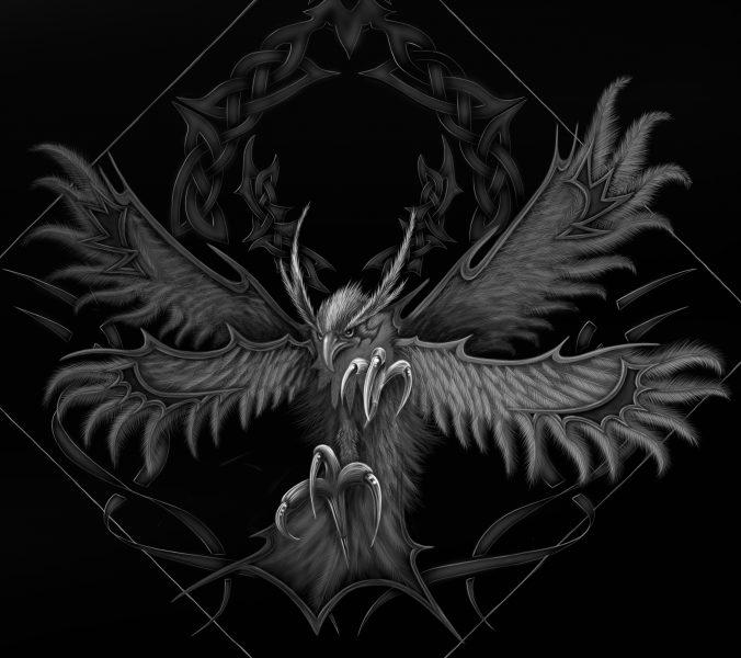 Fantasy-Bird-Tablet-Drawing