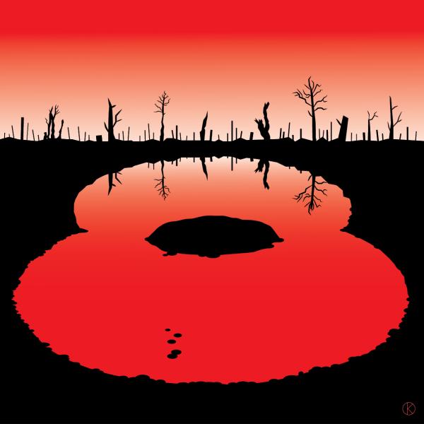 Remembrance Sunday Illustration