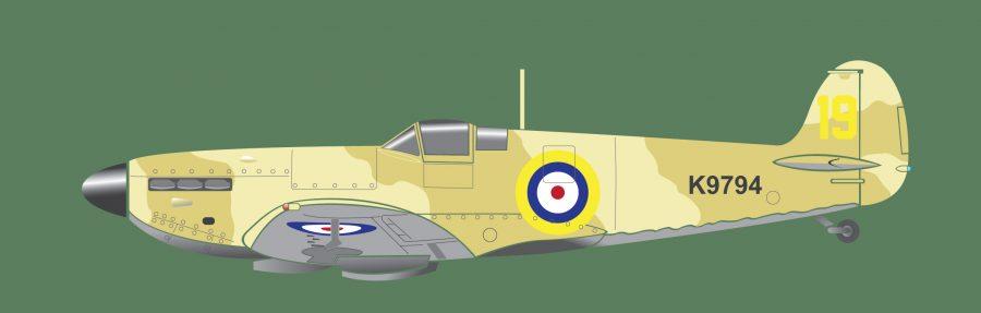 Spitfire-illustration