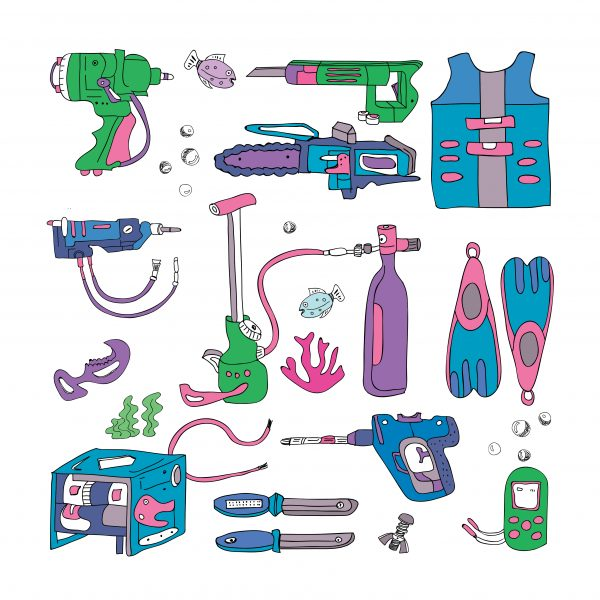 Underwater and Tools