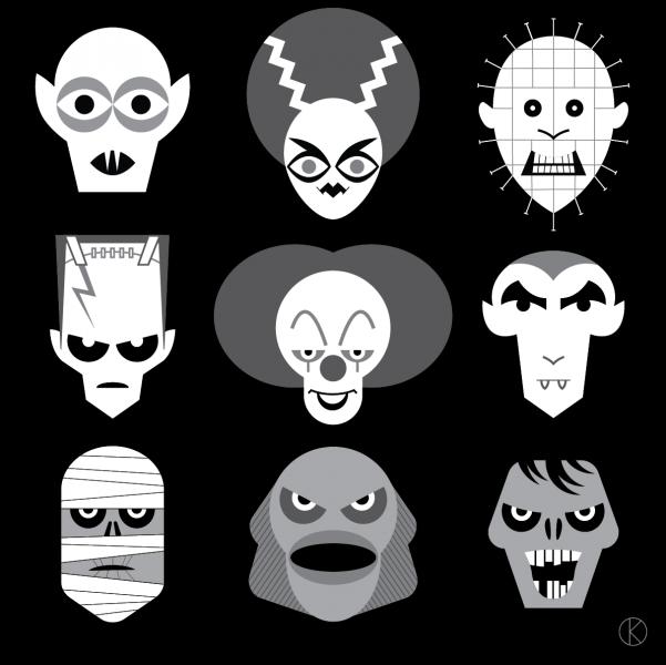 Halloween for Instagram's Vectober 2018