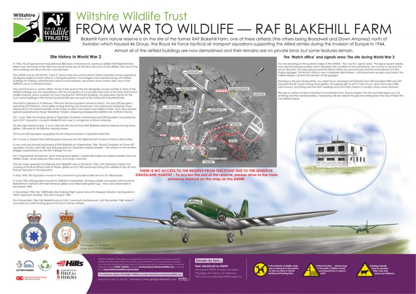 Wilshire-Wildlife-Trust--From-War-to-Wildlife-Illustration-on-Blakehill-Fram