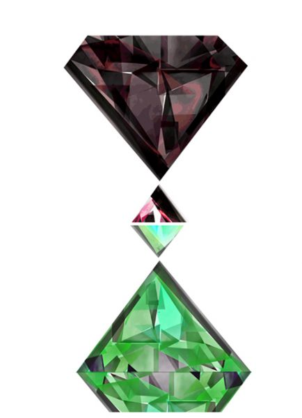 Emerald and Ruby
