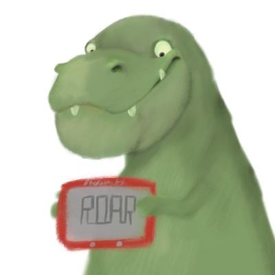 etch a sketch t rex