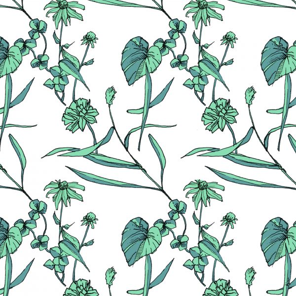 Spring Surface Pattern Design