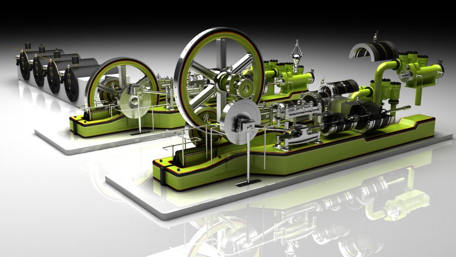 Engines with Boilers