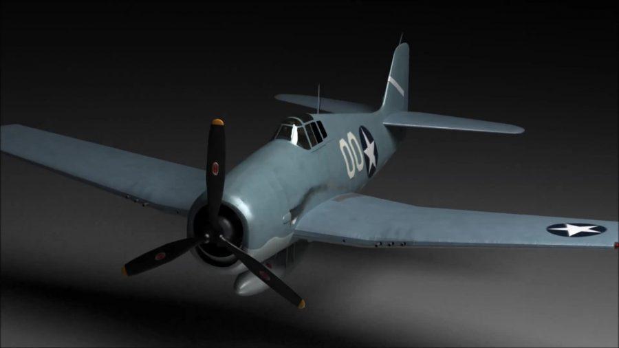 Hellcat Animated Cutaway Flyaround