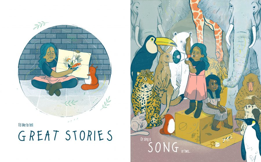 Only little Now - by Emily Shore, Illustrated by Hannah Bluish