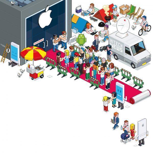 iPhone 6 / Migros Magazine, Switzerland