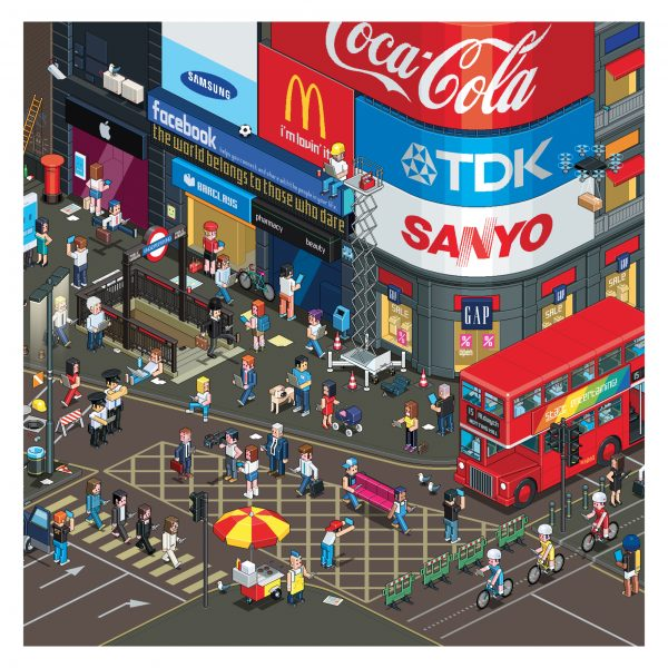 Piccadilly Circus / How To Magazine, Germany