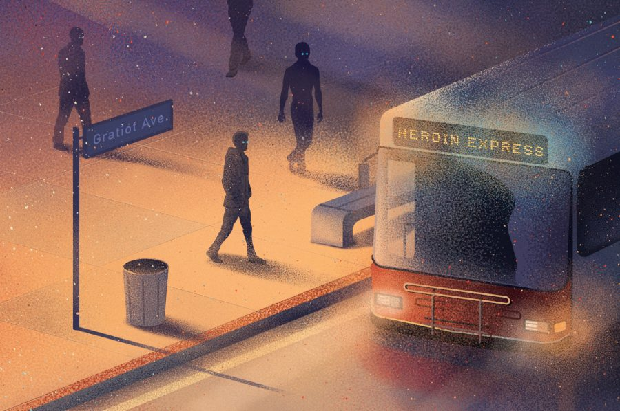 Heroin Express Poisonous Reach / Detroit Magazine