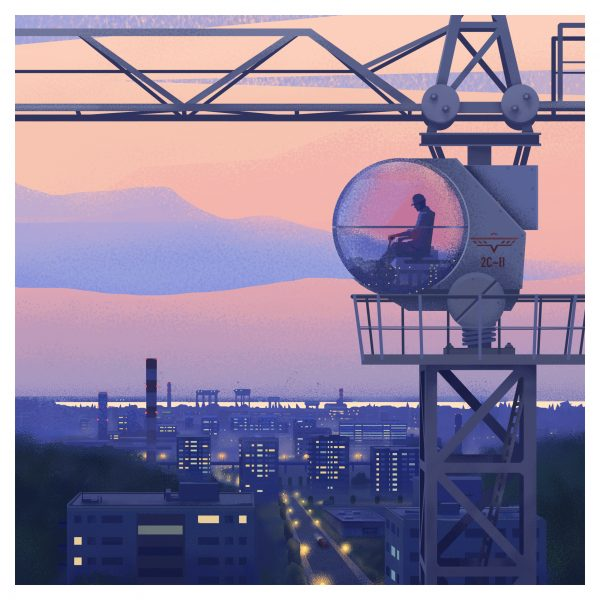 Eastern Bloc Tower Crane
