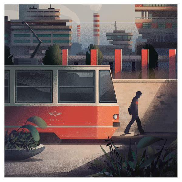 Eastern Bloc Tram